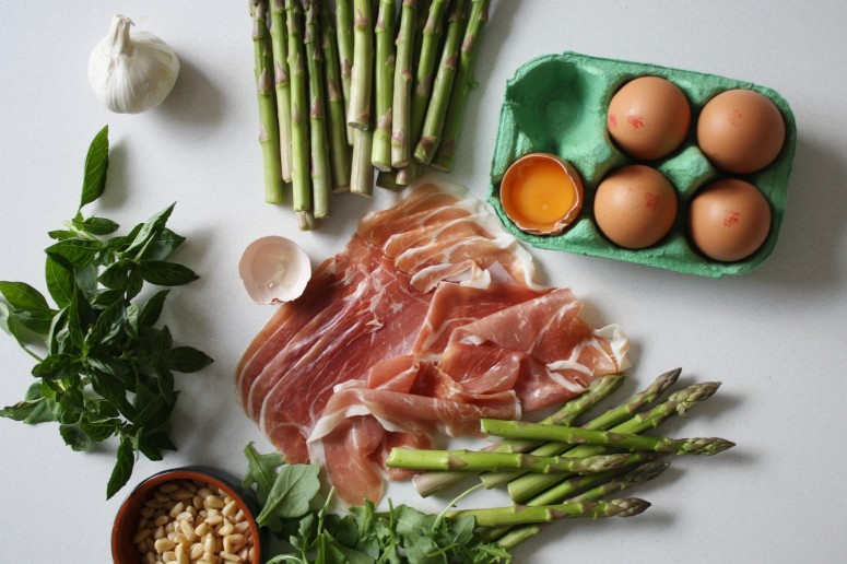 wish to dish pesto asparagus and eggs recipe (4)